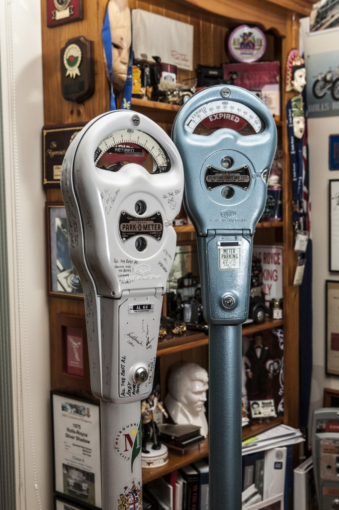 Alan spent over 40 years working with parking meters.