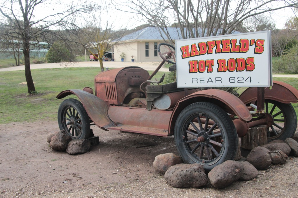 Hadfield's Hot Rods is a fantastic place to visit for those interested in the history of Hot Rods in Australia.