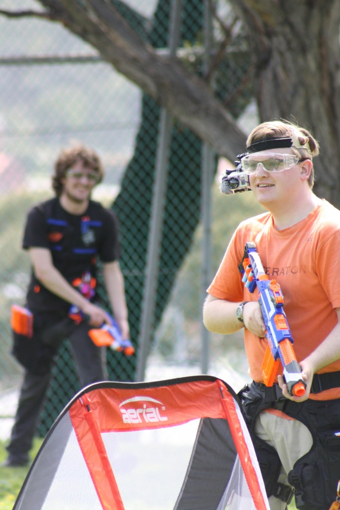 For Alex, the joy of Nerf extends far beyond just the guns; it's the camaraderie too,