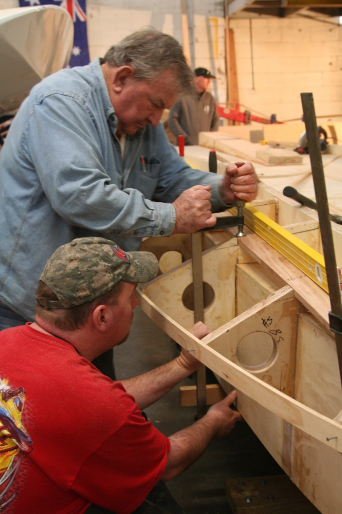Dad n Dave building