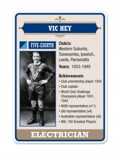 VIC HEY