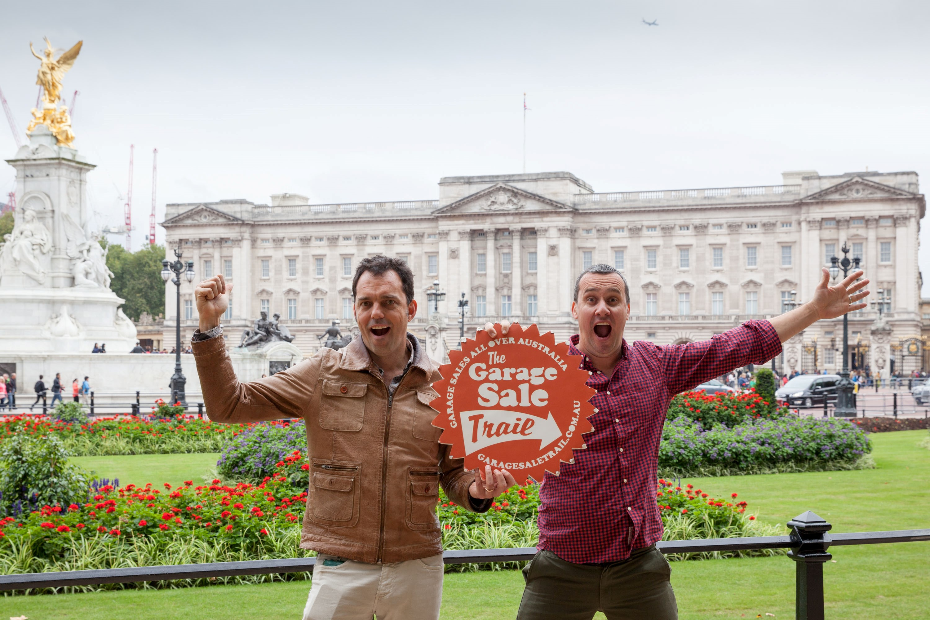 Garage Sale Trail - Buckingham Palace - Cofounders Andrew Valder and Dar...