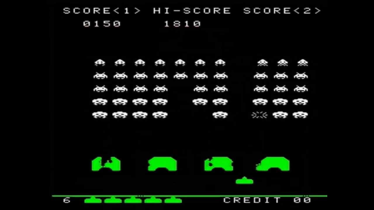 Top 10 Classic Arcade Games - ManSpace Magazine  Space Invaders Spaceship