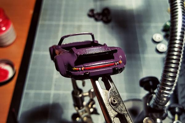Detailing a Porsche - Instagram