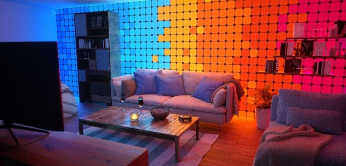 Light up your space with Nanoleaf