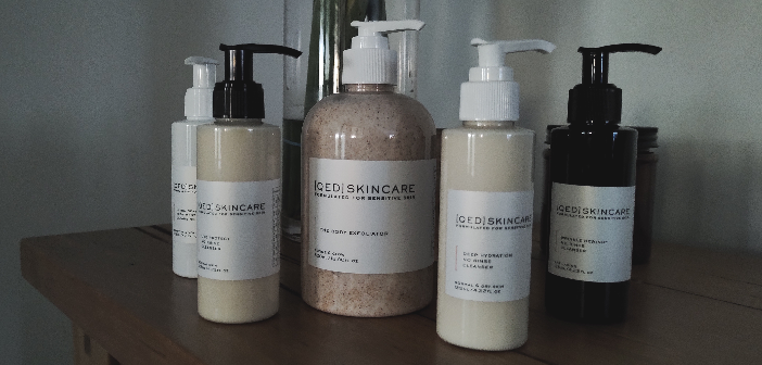 QED no-rinse skincare products