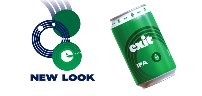 Exit Brewing hops into a new look