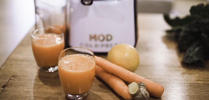 Packing in vitamins and minerals with immunity boosting juice