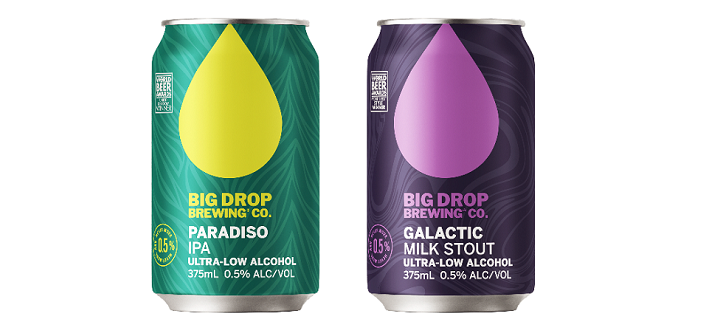 Big Drop Brewing Co. launches two new, out of this world non-alcoholic brews