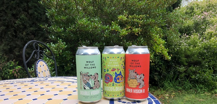 Wolf of the Willows drop three tins, right in time for spring